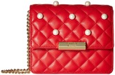 Moschino Quilting and Pearls Crossbody Cross Body Handbags