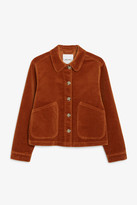 Monki Cropped boxy jacket