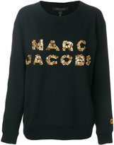 Marc Jacobs sequin logo sweatshirt