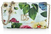 Dolce & Gabbana Fiori Floral Leather Crossbody Bag