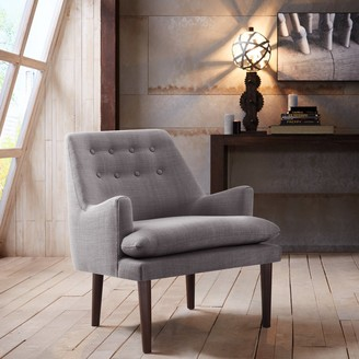 Madison Home USA Elsa Grey Mid-Century Accent Chair