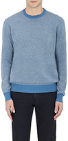 Luciano Barbera MEN'S CASHMERE CREWNECK SWEATER