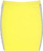 Versace Metal panel mini skirt