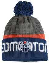 Reebok Edmonton Oilers Cuffed Pom Knit Toque