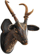 Pronghorn Wall Art - Black