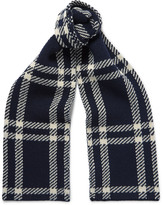 A.p.c. - Saaen Checked Wool Scarf