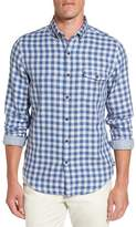 Vineyard Vines Men's Crosby Slim Blue Heron Gingham Sport Shirt