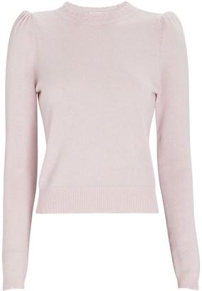 Frame Madeline Cashmere Puff Shoulder Sweater