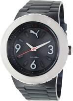 Puma Men's PU103331001 Silicone Analog Quartz Watch with Dial