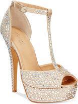 Thalia Sodi Flor Platform Dress Sandals