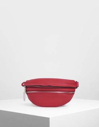 Charles & Keith Chain Strap Belt Bag