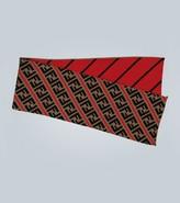 Fendi FF motif wool-blend scarf