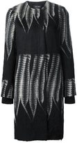 Yigal Azrouel tailored fern coat - women - Alpaca/Virgin Wool - 4