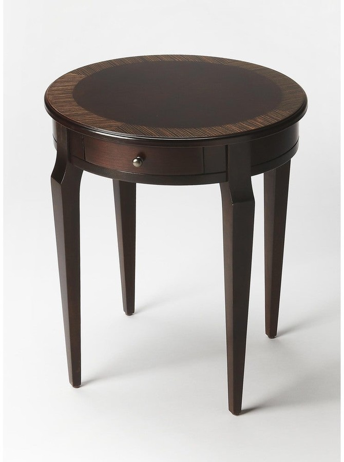 Thumbnail for your product : Butler Handmade Archer Cafe Brown Wood Nouveau End Table