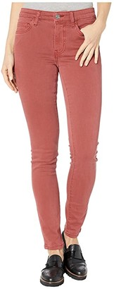 Current/Elliott The Original Stiletto in Washed Berry (Washed Berry) Women's Jeans
