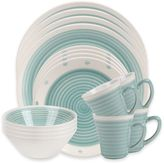 Sango Rico 16-Piece Dinnerware Set in Aqua