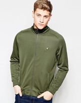 Lyle & Scott Tracktop with Eagle Logo in Green