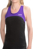 TYR Carbon Tank Top - UPF 50 (For Women)