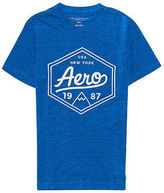 Aeropostale Mens Mountain Peak Logo Graphic T Shirt
