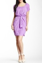 Jessica Simpson JS3A4315 Ruched Wrap Skirt Dress
