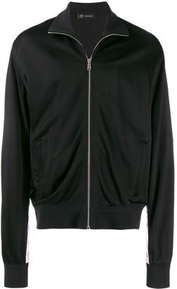 Versace Medusa strap detail track jacket