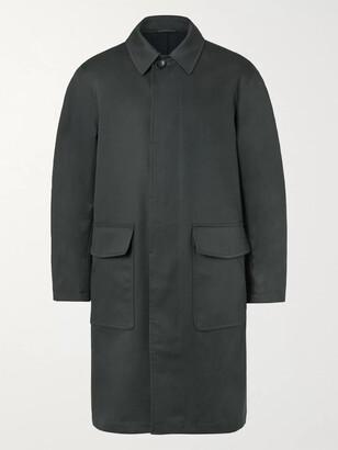 Mr P. Oversized Bonded Cotton-Blend Raincoat
