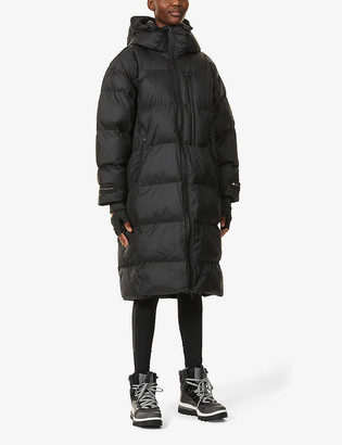 adidas by Stella McCartney Funnel neck recycled-polyester longline jacket