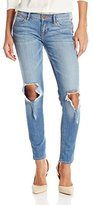 Dittos Women's Selena Anke Skinny, Medium Busted Knee