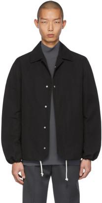 Bottega Veneta Black Twill Coaches Jacket