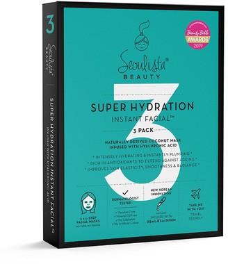Karen Millen Seoulista Beauty Super Hydration 3 Pack Mask