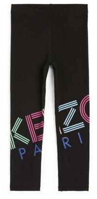 Kenzo Kids Rainbow Logo Leggings (2-14 Years)