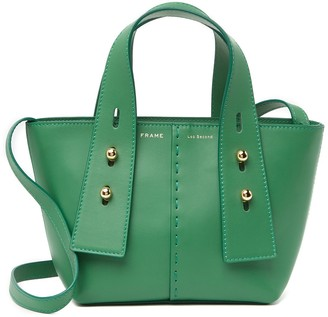 Frame Les Second Leather Mini Tote Bag
