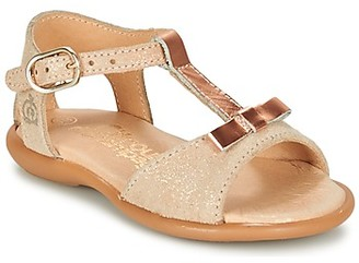 Citrouille et Compagnie GUGULE girls's Sandals in Gold