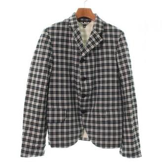 Comme des Garcons Green Cotton Jacket for Women