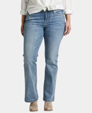 Silver Jeans Co. Trendy Plus Size Suki Bootcut Jeans
