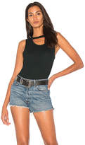 Splendid 2X1 Rib Cut Out Tank