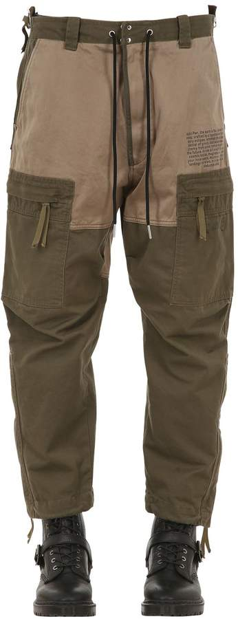 Diesel MULTI-POCKET COTTON CARGO PANTS