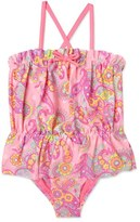Hula Star Girl's 'Enchanted Paisley' One-Piece Swimsuit