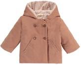 Ketiketa Hooded Velvet Coat