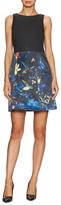 Alice + Olivia Alejandra Print Skirt A-Line Dress