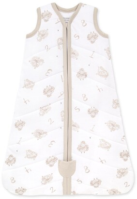 Burt's Bees Beekeeper Counting Sheep Quilted Organic Baby Wearable Blanket