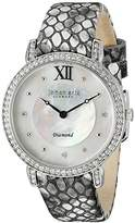Johan Eric Women's JE7000-04-009.1 Ribe Analog Display Quartz Silver Watch