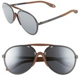 Givenchy Women's 57Mm Sunglasses - Black/ Grey Mirror