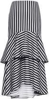 Banana Republic Super-Stretch High-Low Maxi Skirt