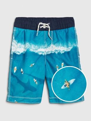 Gap Kids Shark Board Shorts