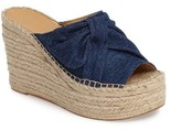 Marc Fisher Women's Aida Bow Espadrille Wedge