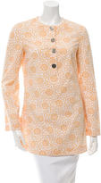 Tory Burch Long Sleeve Printed Tunic