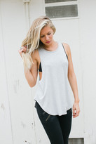 Joah Brown - Lazy Day Tank In Heather Grey