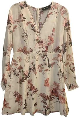 The Kooples Spring Summer 2019 Ecru Silk Dresses
