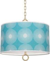 Jonathan Adler Small Patterned Meurice Pendant Lamp